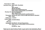 Continue to Give screenshot: View donation receipts with detailed information