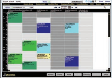 Use the calendar to manage different departments and track services, classes and sales opportunities
