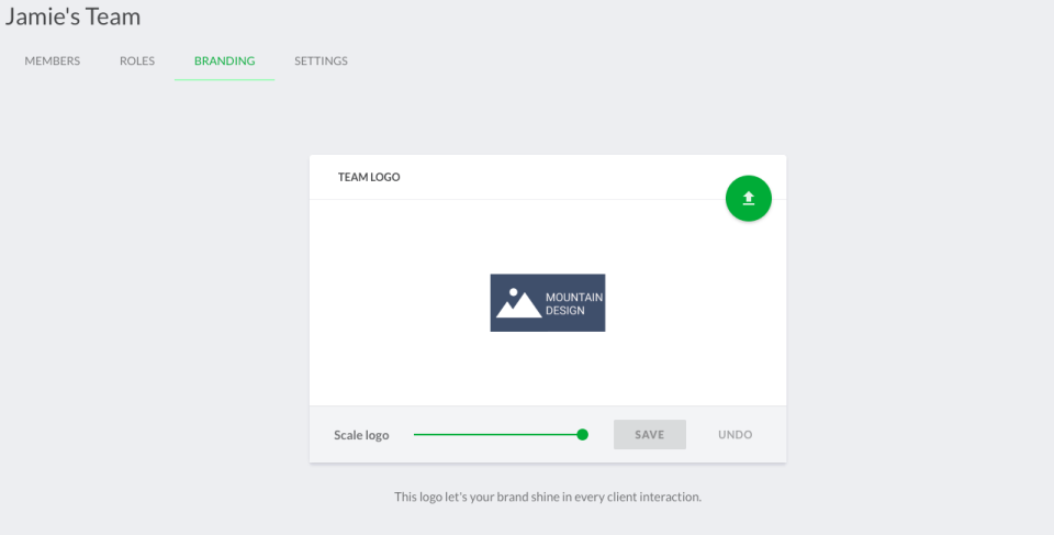 Customize Filestage with company branding