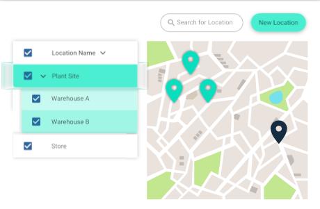 Tekmon location tracking