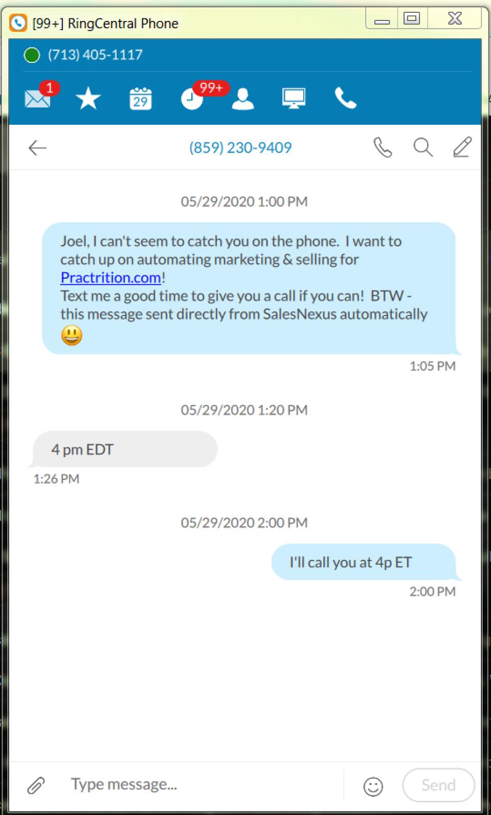 SalesNexus Software - 3