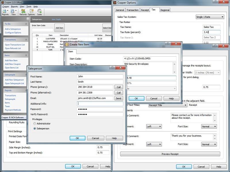 Copper POS Software - 3