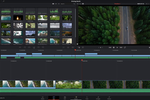 DaVinci Resolve screenshot: DaVinci Resolve portable editing