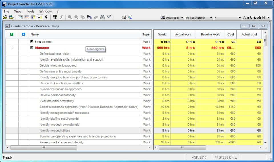 Project Reader Software - 5