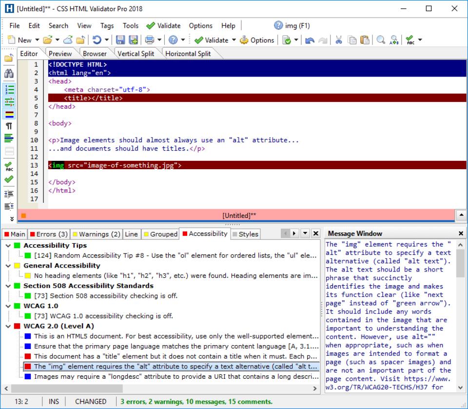 CSS HTML Validator Software - 2