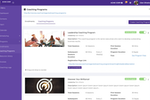 CoachVantage screenshot: Create and sell your coaching programs online. Creating your coaching programs in CoachVantage is done through simple form filling.