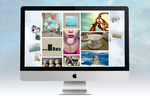 Easypromos screenshot: Tiled gallery layout: create beautiful galleries and make participants' images the real stars of the contests