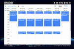 NAKIVO Backup & Replication screenshot: NAKIVO Backup & Replication calendar dashboard