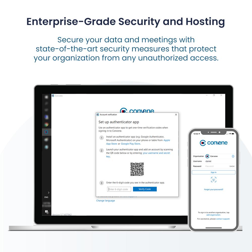 Enterprise-Grade Security and Hosting