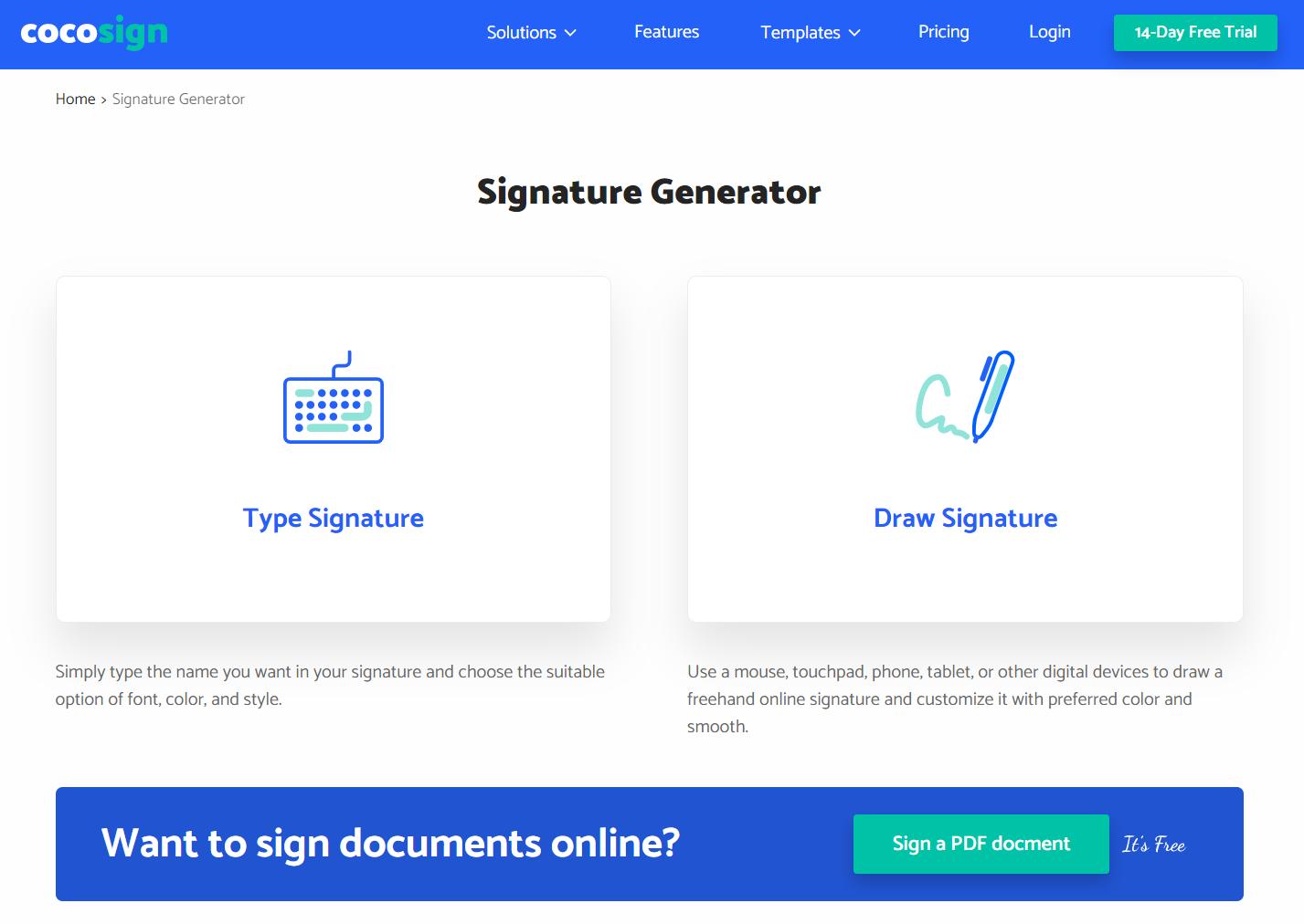 Signature Generator