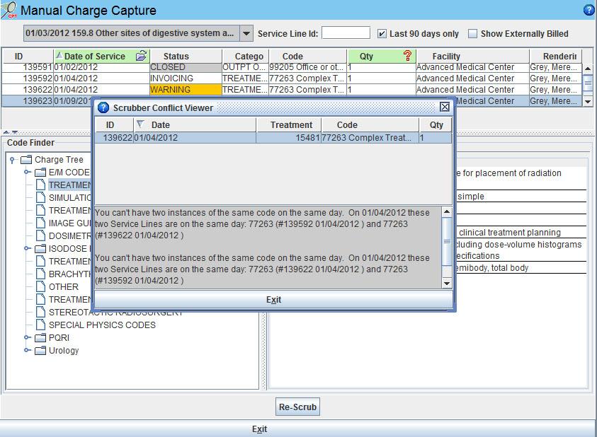 Iridium Suite Software - Automatic claim scrubber