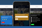 NotifyVisitors screenshot: Create in-app feedback surveys to engage with and collect feedback from customers