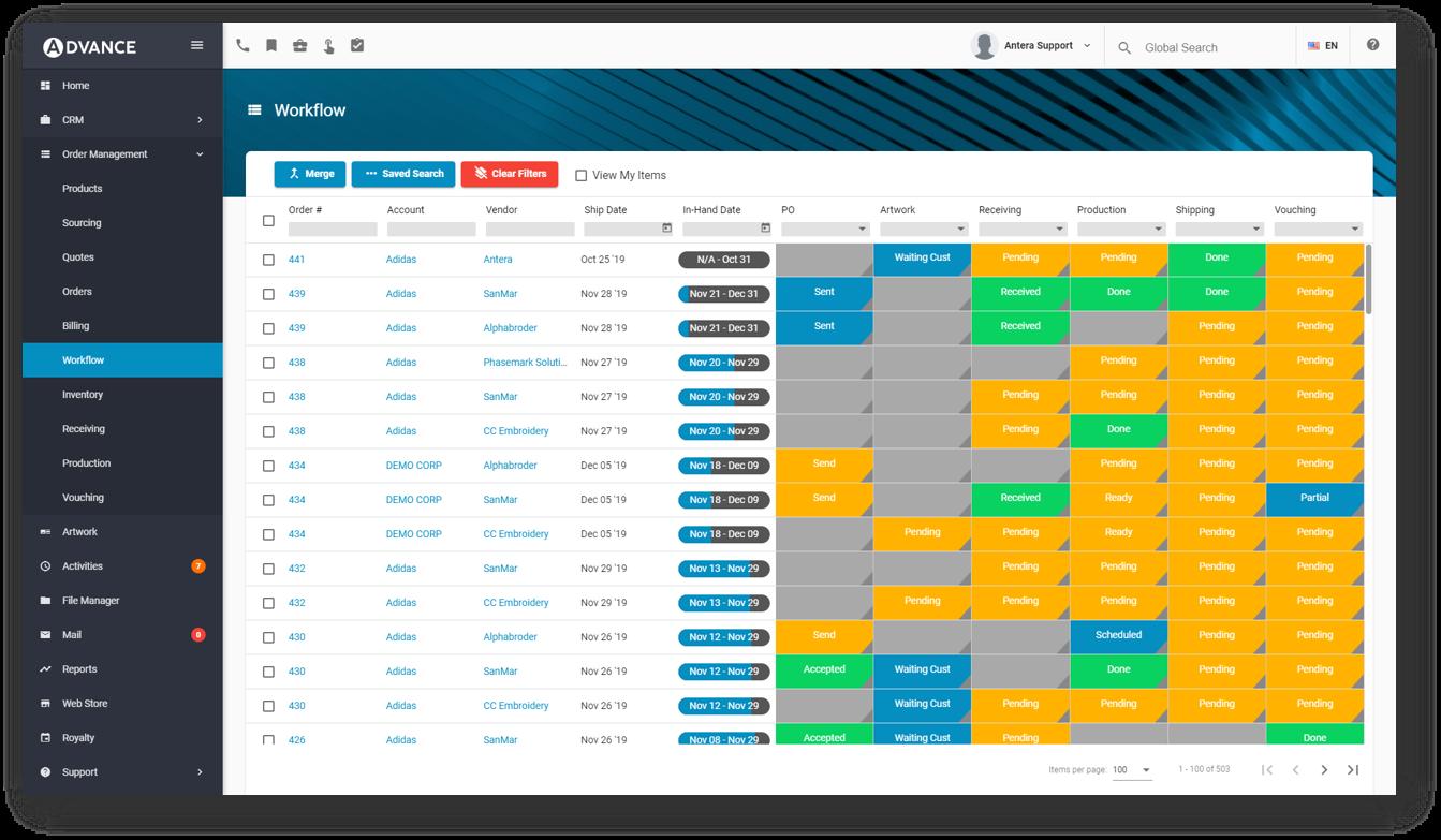 Workflow Dashboard