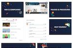 LEARN screenshot: Sample home page/dashboard