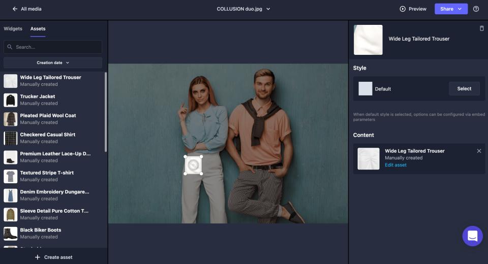 Spott image editor