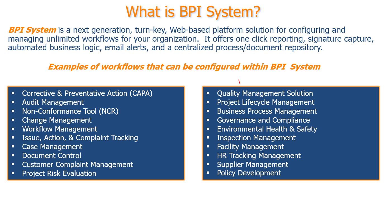 BPI System Software - 2