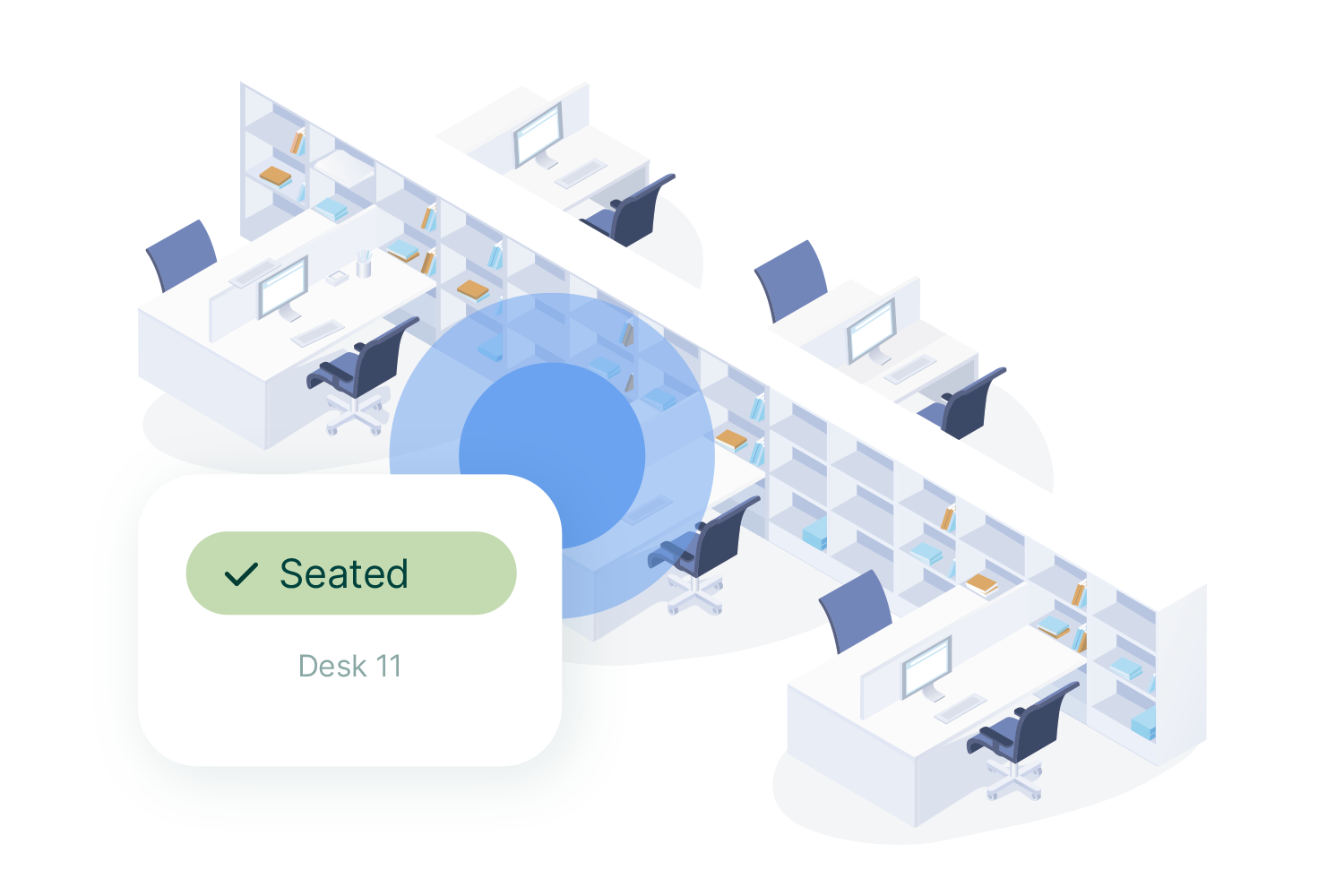 Desk booking allows you to manage your office space