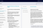 JupiterOne screenshot: Automatically build completely customizable security policies and procedures in minutes.