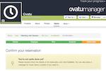 Ovatu Screenshot: Reservations can also be made through Facebook