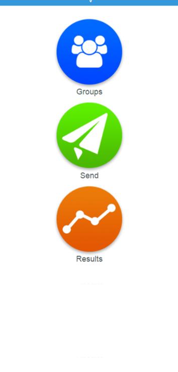 CallingPost mobile dashboard
