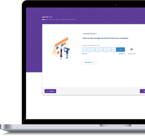 Real-time employee feedback, actionable data, increased performance. Pulse lets you do all these and more with our people-first survey tool.