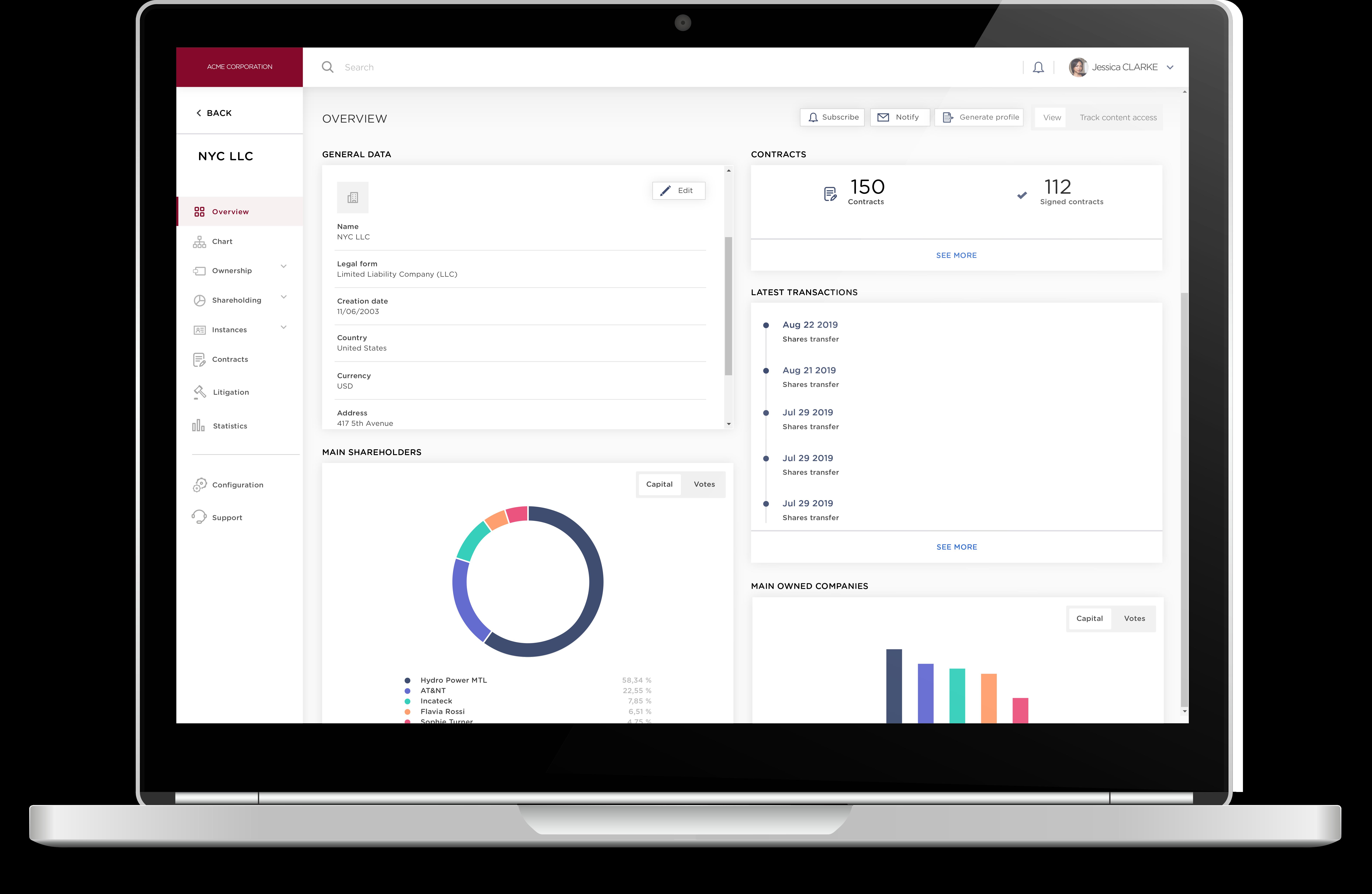 DiliTrust Governance Suite Software - 1