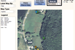 Forest Metrix screenshot: Forest Metrix enables the creation of instant and customizable maps