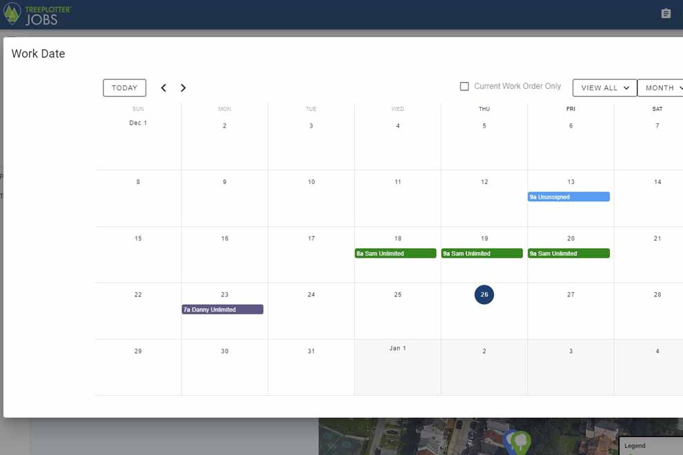 TreePlotter JOBS scheduling