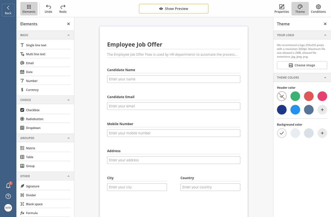 airSlate Software - airSlate create forms
