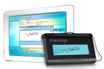 Maxident screenshot: Accept electronic signatures from patients with MaxiSign