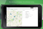 Tasker screenshot: Plan routes with real-time navigation for time and location tracking