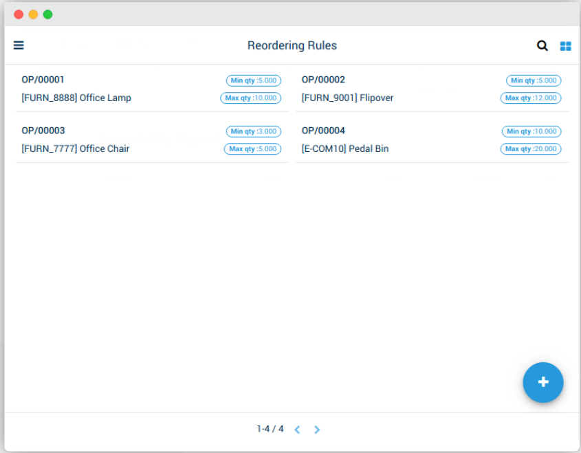 AccelGrid inventory tracking screenshot