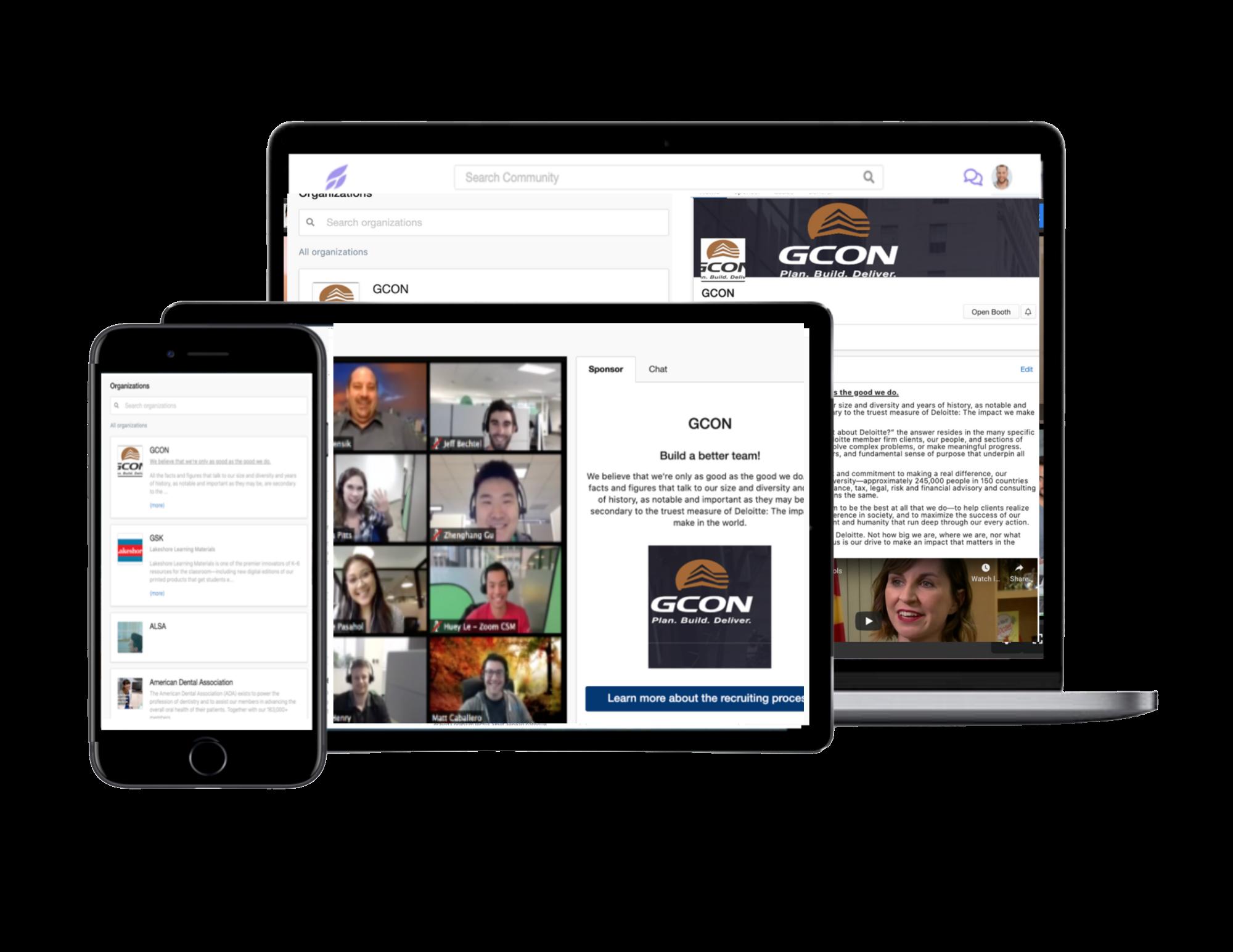 Tradewing screenshot: Sponsor benefits including dedicated sponsor pages and  platform promotion.