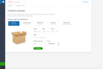 ShipBob screenshot: Use the fulfillment calculator to calculate package shipping costs
