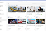 BuzzSumo screenshot: Trending Feeds - See all of the trending stories within the past 24 hours. Choose from our pre-curated feeds, or set up your own custom feed to monitor stories most relevant to you. Understand how quickly a story is going viral with our Trending Score.