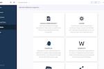 Docparser screenshot: Docparser offers different integration options including Zapier, Workato, Stamplay, MS Flow, Google Sheets, Webhooks or REST API