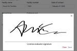 Casebook screenshot: Casebook eSignature