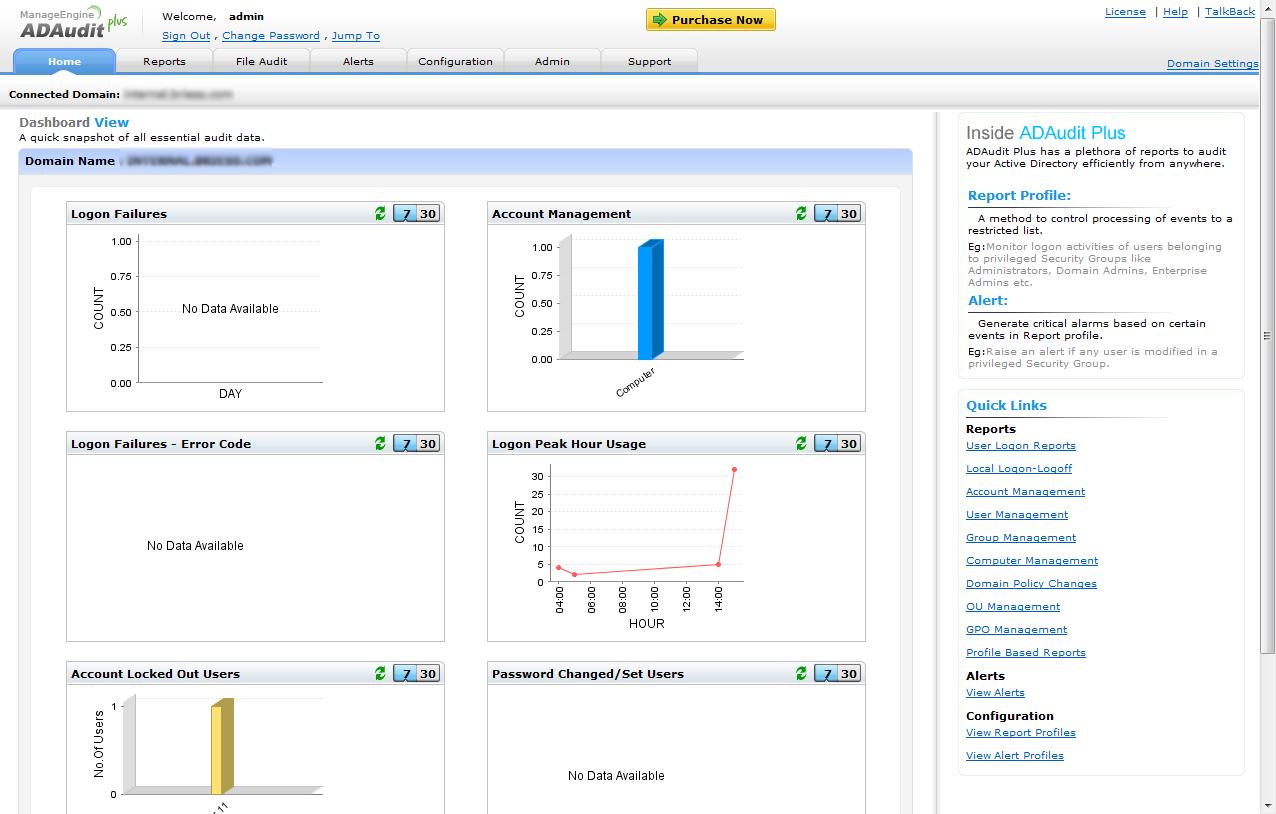 ManageEngine ADAudit Plus Software - 5