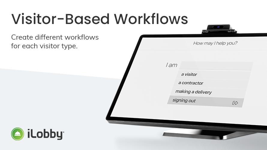 Visitor Based Workflows