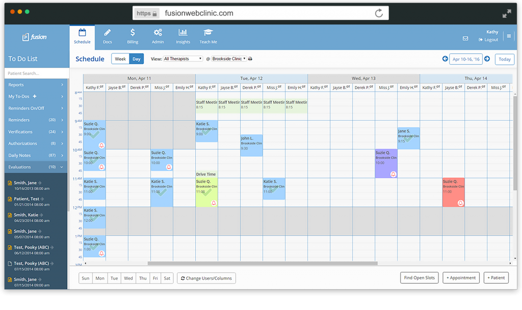 Manage complicated schedules with multiple views and calendar customizations