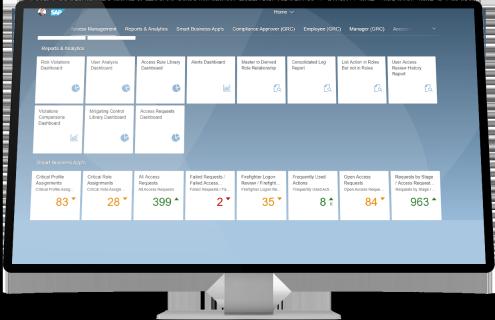 SAP Access Control application access management