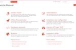 Dezide screenshot: End user troubleshooter menu interface