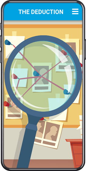 Detective Deductive Reasoning Game