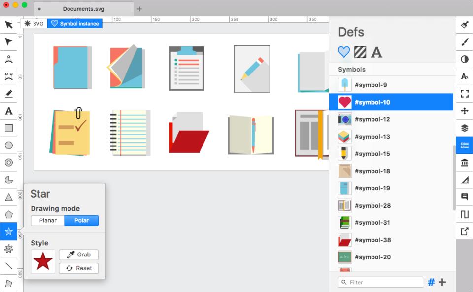 Boxy SVG drawing mode