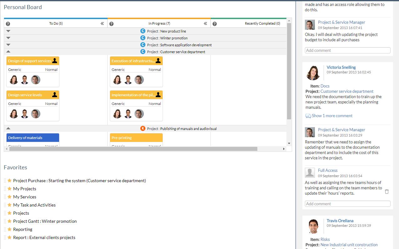 ITM Platform Software - Integrated social network