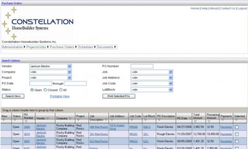 Web-based Trade Information