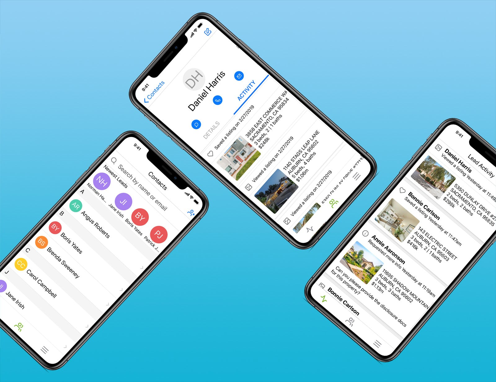 iHomefinder Software - Add, manage, and work your leads anywhere, anytime on your mobile devices with our Optima Leads, our mobile app for agents. Your important lead information and activity is always at your fingertips, without requiring a login.