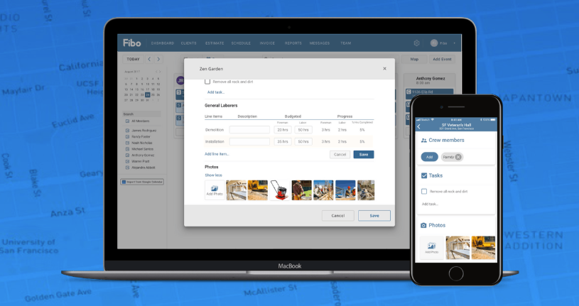 Users can digitize their work orders so office and field staff can access critical information with one click