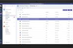 Captura de pantalla de Microsoft Teams: Files can be shared, stored, and managed