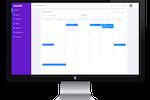 Captura de pantalla de Bookifi: Bookifi calendar view